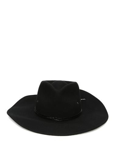 Eric Javits Eric Javits Jade  Krokodil Bantlı Kadın Yün Şapka 101544329 Siyah